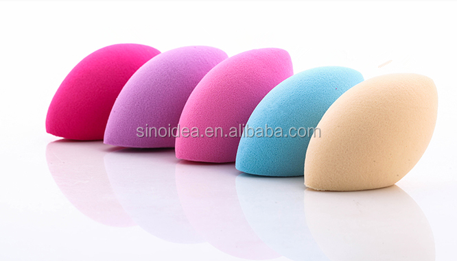 Egg Shape Latex Free Makeup Sponge Pufff For Powder Foundation ...