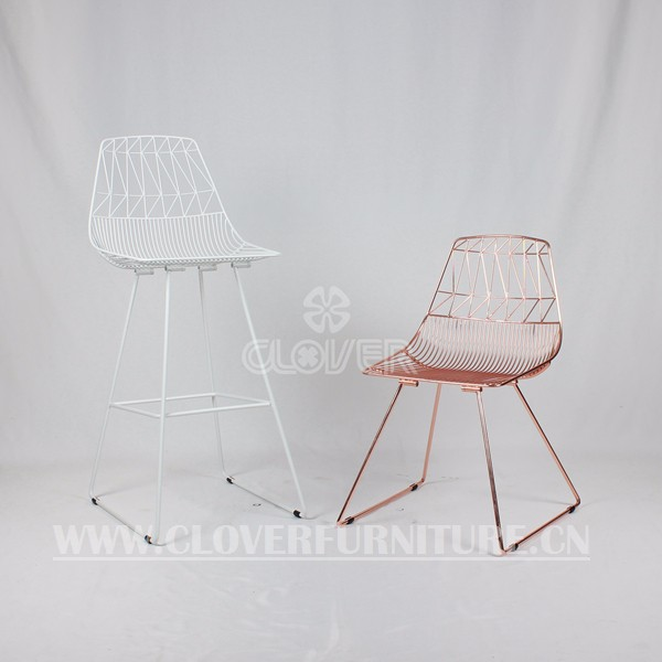 Bend Lucy Chair Wire Replica Wire Chair White View Lucy