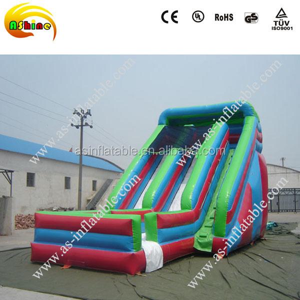 Plastic water slide plastic zwembad glijbaan gebruikt for Zwembad plastic