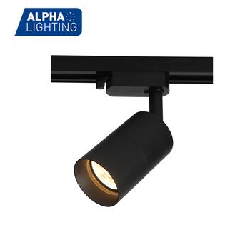 Black Gu10 Led Track Light Commercial Lighting Spot Product On Alibaba