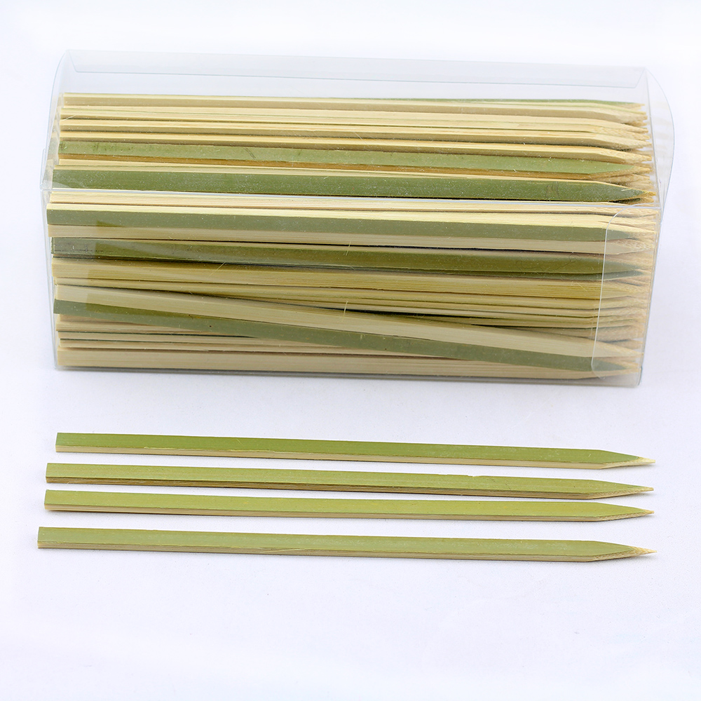 Bbq High Quality Natural Teppo Bamboo Skewers Sticks Round