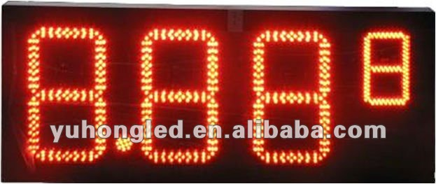 "8"" 8.889 LED Gas price display for Gas Station"