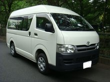 TOYOTA HIACE VAN long DX