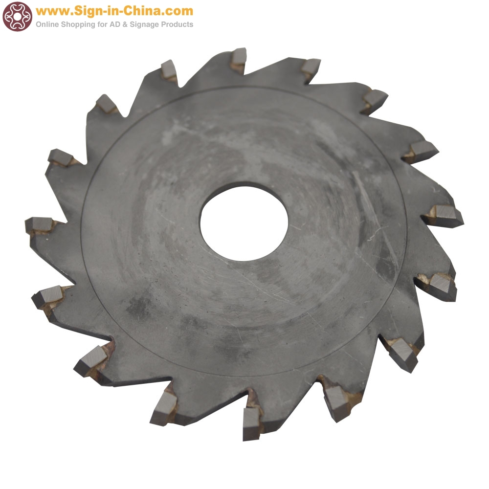 "100mm (3.9"") Diameter Saw Blade, Cutting Blade, Cut Iron, Stainless Steel"