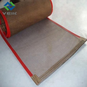 UV dryers mesh conveyor belt for shrink wrapping machine heat tunnel