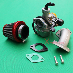 PZ22 22mm Carburetor Air Filter For 110cc 125cc CRF SSR Sunl Taotao Pit  bike ATV