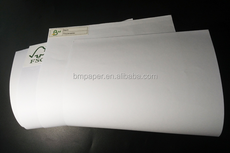 Eco Friendly 65gsm 80gsm Jumbo roll Woodfree Offset Paper With FSC report