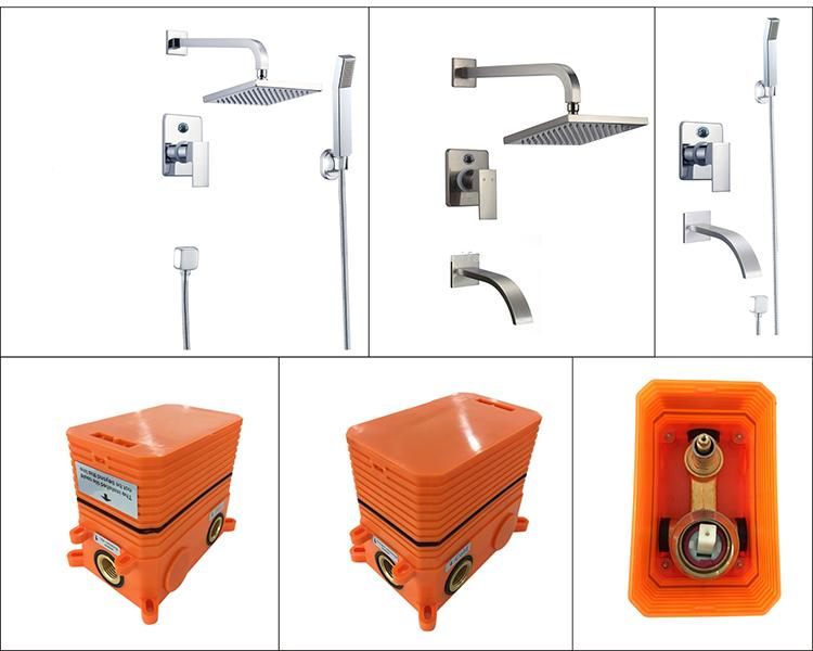 cUPC shower set (86H24-BN)