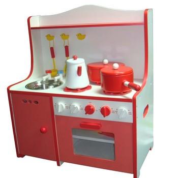 Funny Kids Wooden Kitchen Pretend Play Toys Diy Gourmet Kitchen Toys
