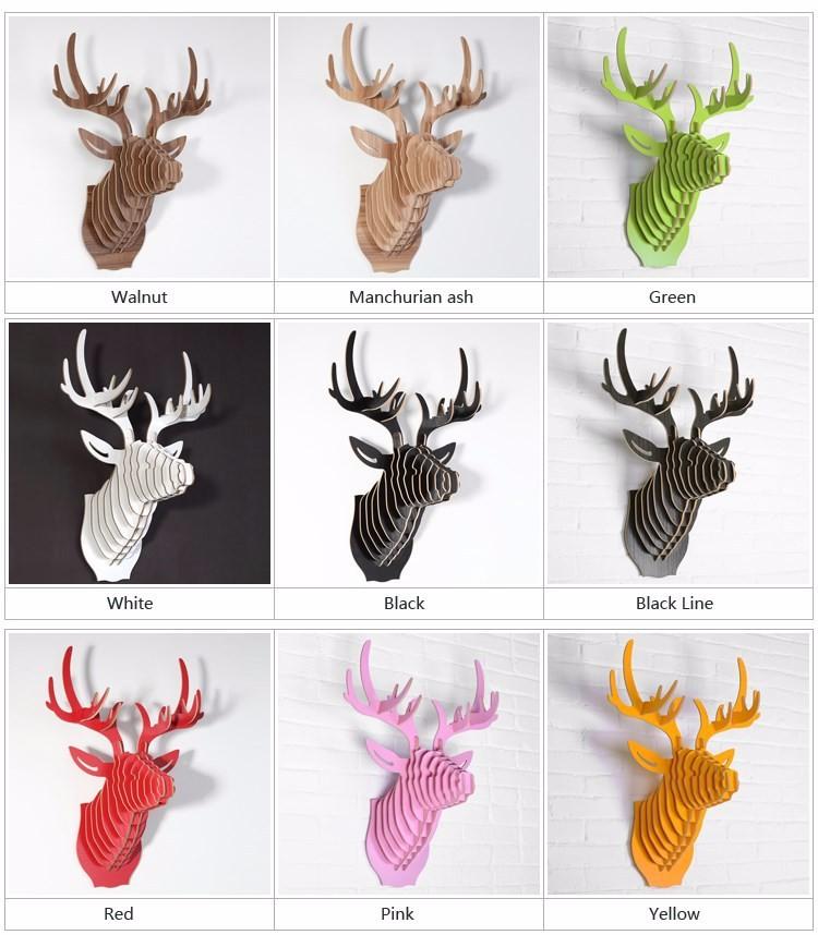 Navidad decoraciones para el hogar 3D DIY artesanía de madera MDF ...