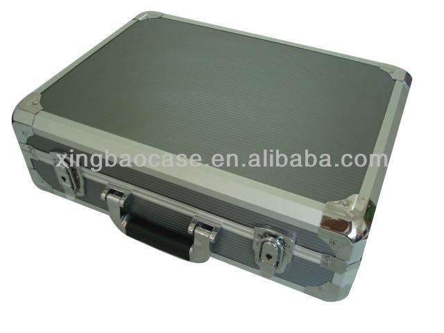 Canvas cosmetic bag,small briefcase with lock,excel briefcase