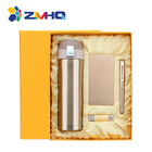 Powerbank USB Flash Pen Vacuum Cup Promotion Gift Set