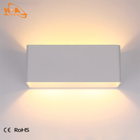 Indoor up down light warm white led decorative wall lamps