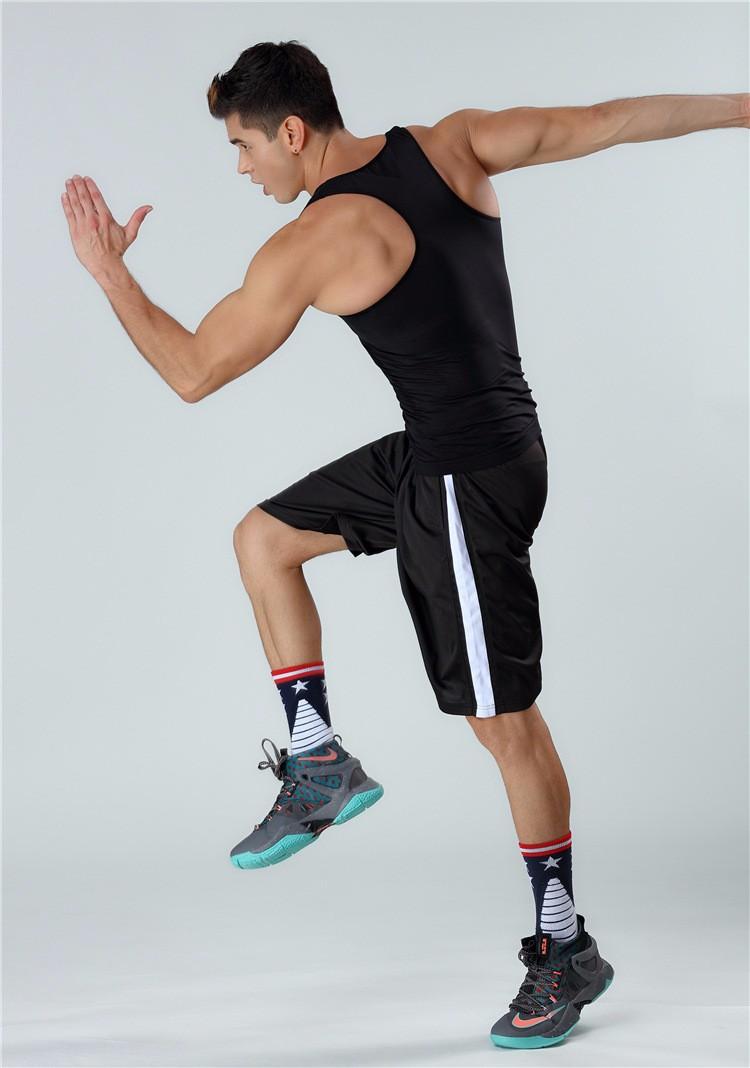New Listing Fitness Men Workout Activewear Sport Wear Seamless Vest For Body Shaper 3