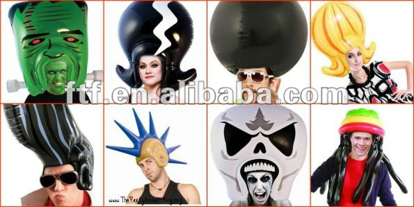 Funny inflatable party animals and toys