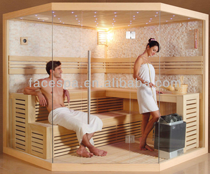 Cristal sauna