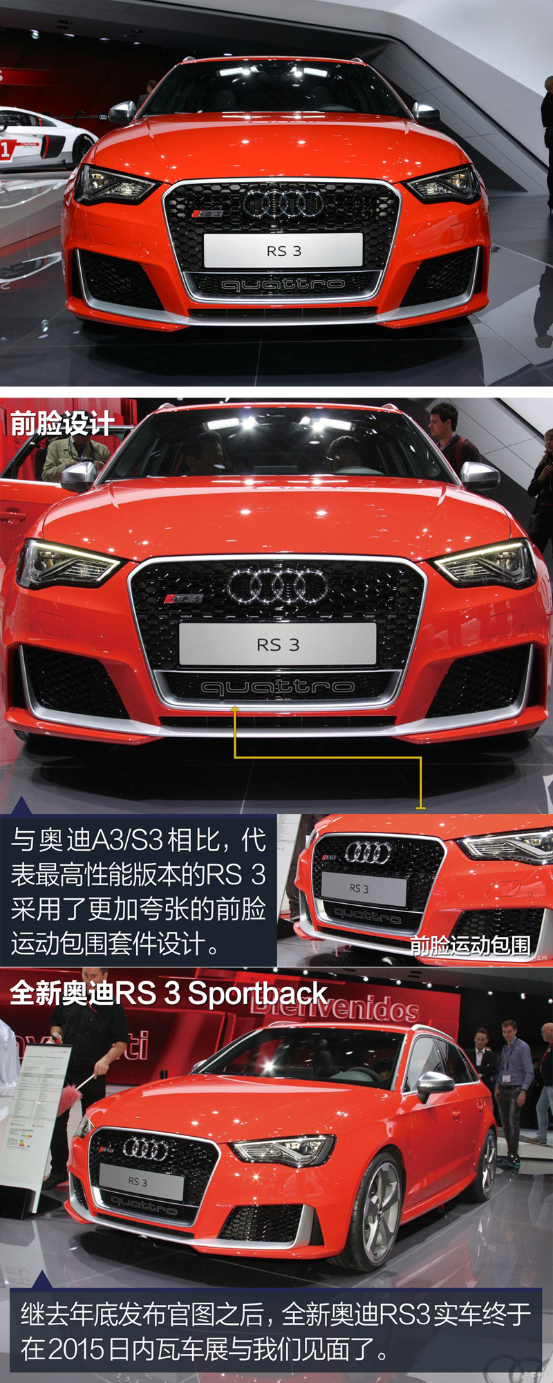ABS Full glossy black frame RS3 sportback radiator mesh grille quattro grills front bumper honeycomb grill for audi A3 S3