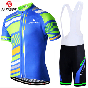 X-Tiger 2018 Pro Cycling Set Mans Racing Bicycle Clothing Pro MTB Racing  Bike Clothes Maillot Ropa Ciclismo Cycling Jersey Set 64a521bc4