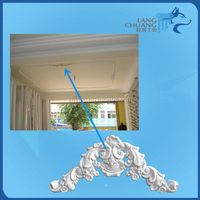 High & Healthy Finishing Materials Making Moistureproof Ceiling White Plaster Veneer