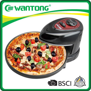 BSCI Factory Modern Kitchenware Portable Electric Pizza Oven