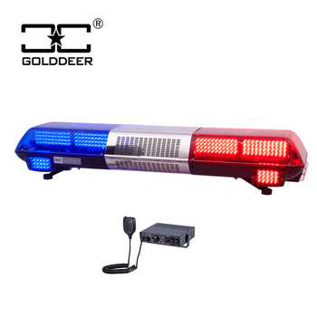 1200mm LED Warning Light Bar red blue Lightbar with Siren (TBD01126)