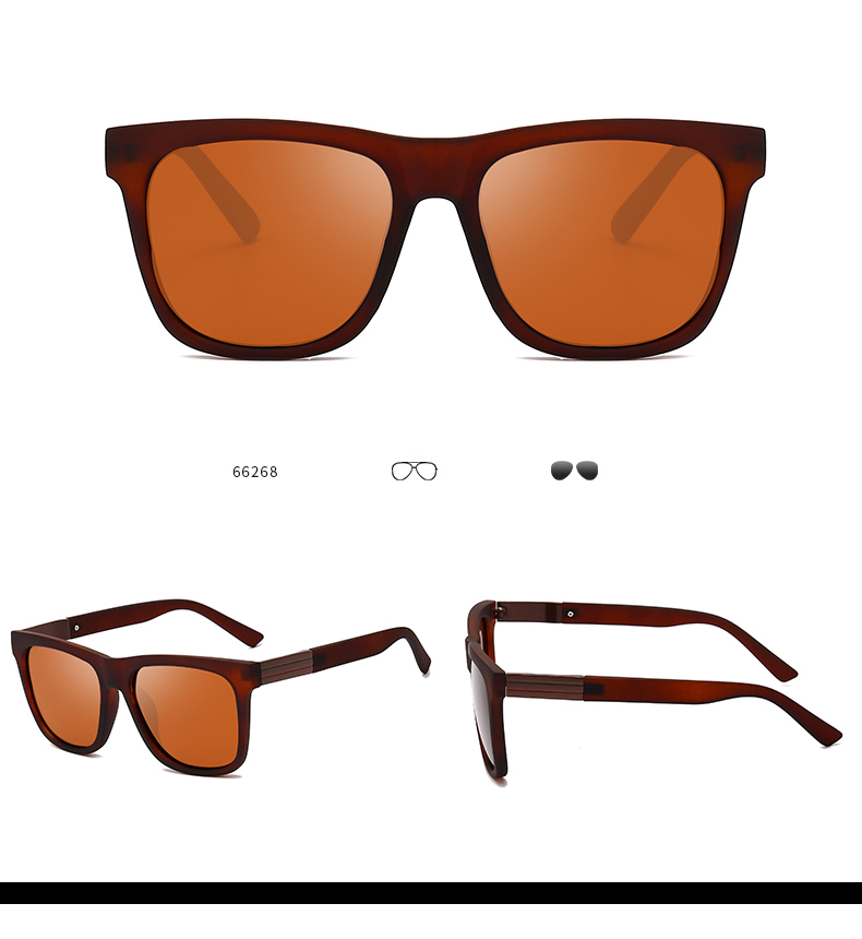 Best Selling China Your Own Idea Design Sunglasses Men Rimless TAC Square Sun Glasses