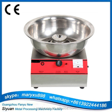 Multifunction stainless steel electric / gas automatic cotton candy maker machine