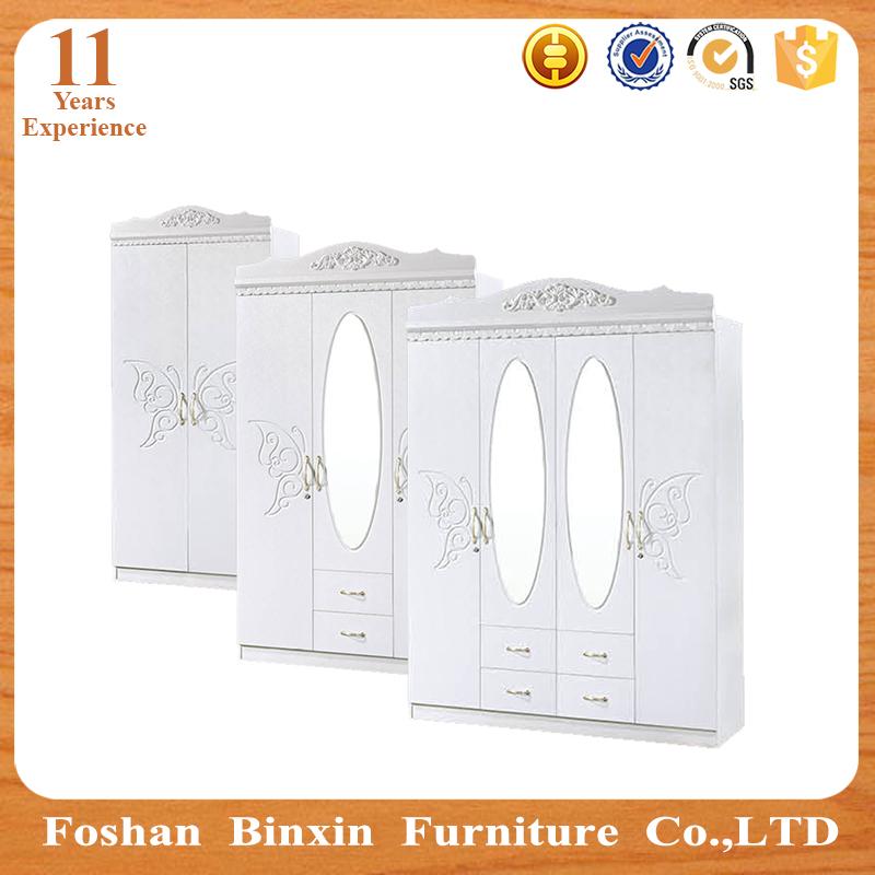 Muebles para el hogar MDF armario diseños RB9303 PVC 3 puerta grande ...