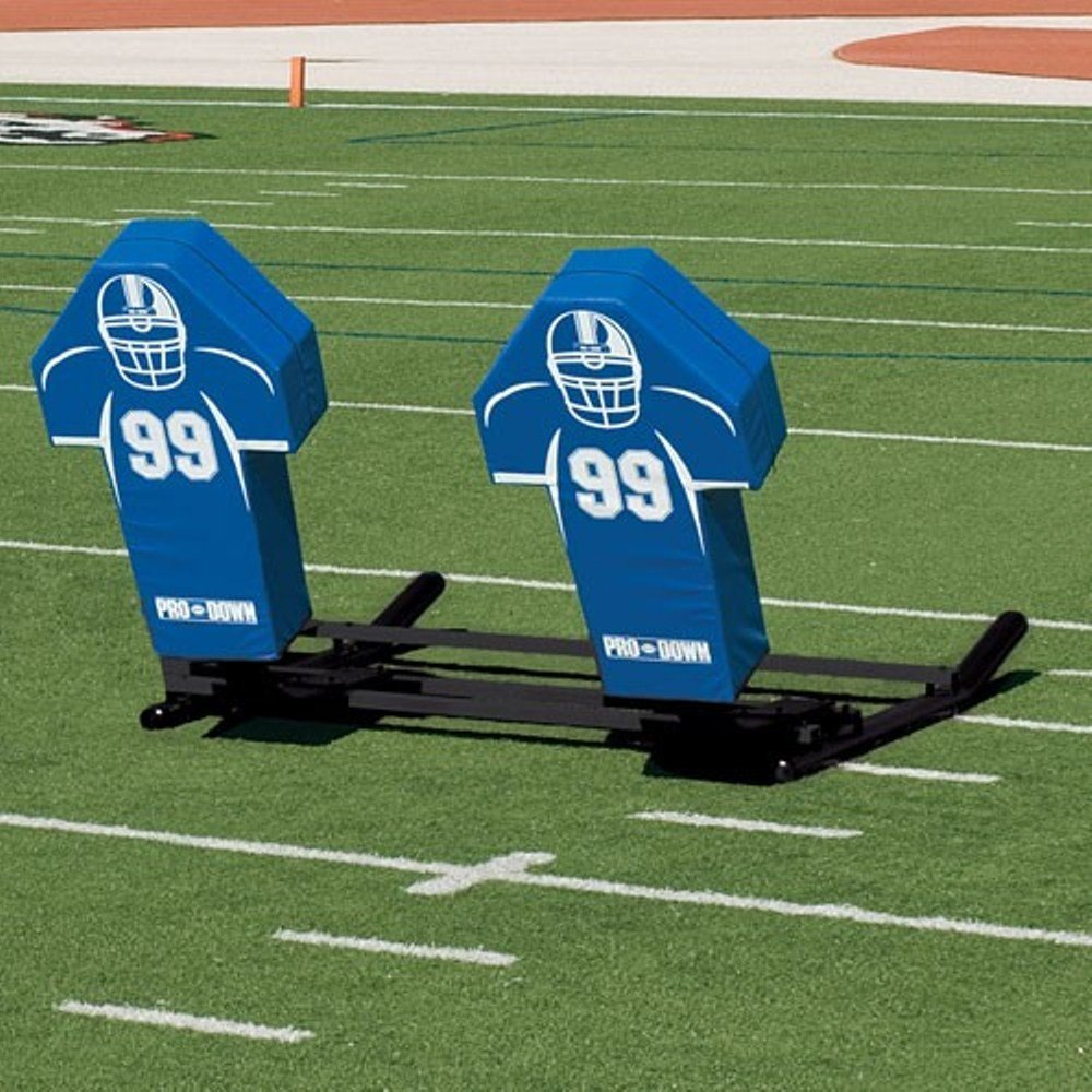 Get Quotations · Football Blocking Sled with Custom Cone Pad - Varsity  M-Series - 4 Man 7c37de615