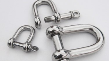 High Quality Grade 316/304 Stainless Steel Shackle Hot Forged D Shackle Type