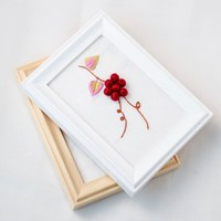Wholesale 3d Pvc Picture Frame /A4 Plastic Shadow Box Frame / Gifts Picture Photo Frame