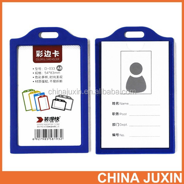 Wholesale RBD Fashion PVC lanyard id card badge holder for working