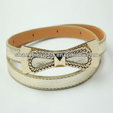 FASHION RHINESTONE BOW TIE BELT FOR LADY