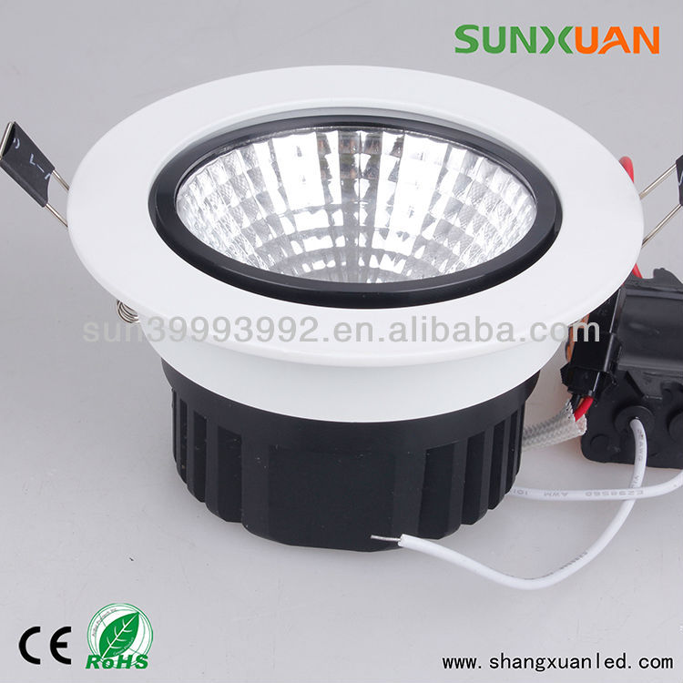 CE Epistar long life span akari light COB led down light
