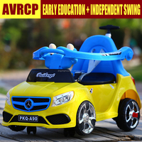 Wholesale Factory Direct New Type Children Electric Car / Kids Swing Car Baby Ride on Toys Car