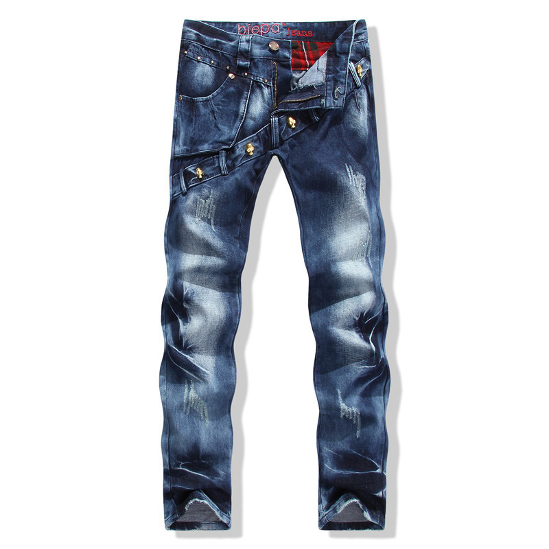4c992e8b7699 Get Quotations · Robin Jeans 2015 New BP Personal Brand Jeans Men Straight Designer  Jeans Trousers of Straight Bevel