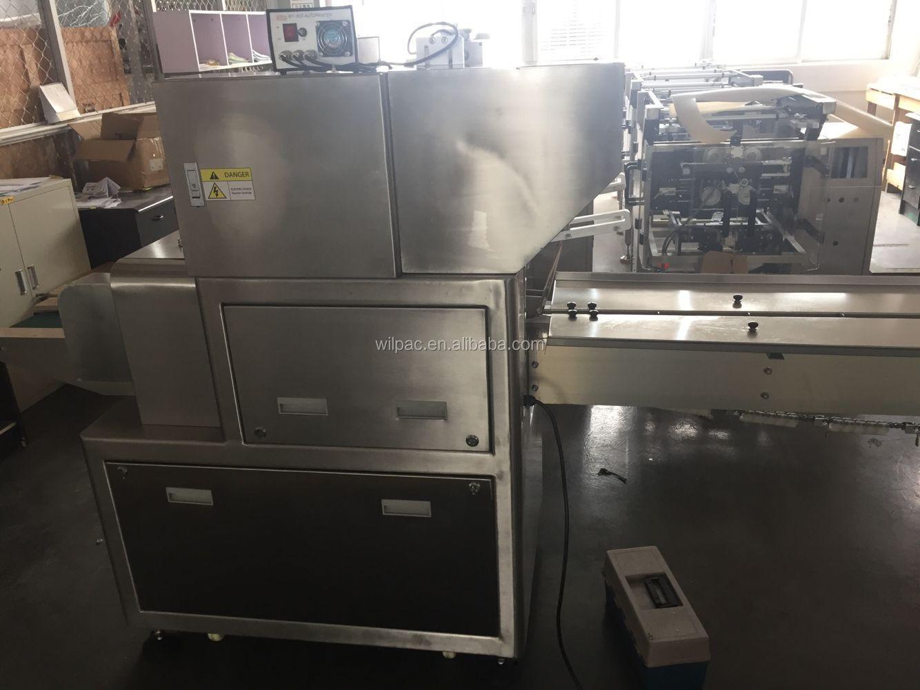 Yeni durum yatay paketleme akış paketleme akış sarma makinesi muhallebi pasta çörek Çin mooncake ekmek