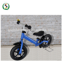 2018 new product kids balance mini bike push steel bicycle for cheap