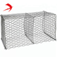 Plastic coated gabions / gabion basket netting / chicken wire gabion box wire fencing