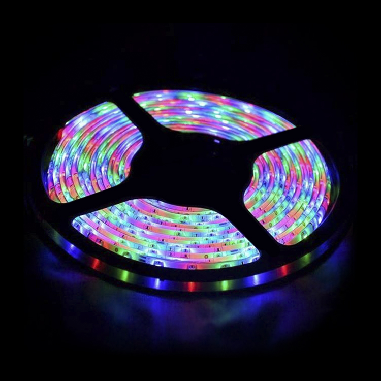 2020 Wholesale 5m/roll ultra thin smd rgb neon battery powered led strip light