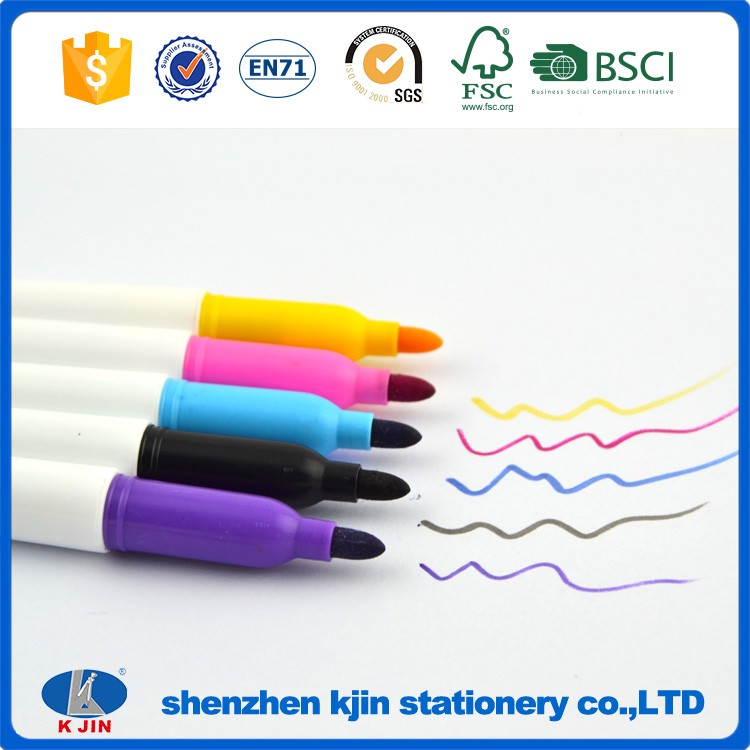 Cheap eco friendly 5 color white board marker for wholesale