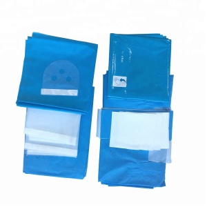 Disposable Surgical Procedures Consumables Cardiovascular Angiography Drape Pack