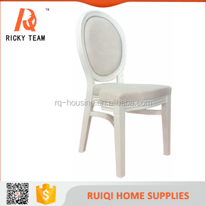Economical custom design home furniture/modern stackable french style high quality wooden dining chair