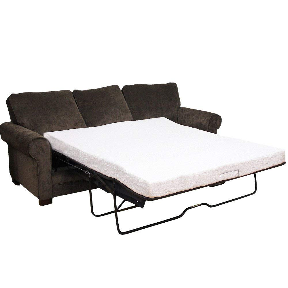 Get Quotations Clic Brands Cool Gel Memory Foam Replacement Sleeper Sofa Bed 4 5 Inch Mattress Full