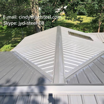 Quit Smoke: metal roofing ridge