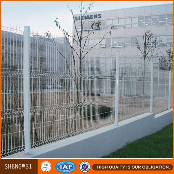 Welded Steel Wire Mesh Concrete Fence,Heavy Mesh Panels Wire Fencing ...