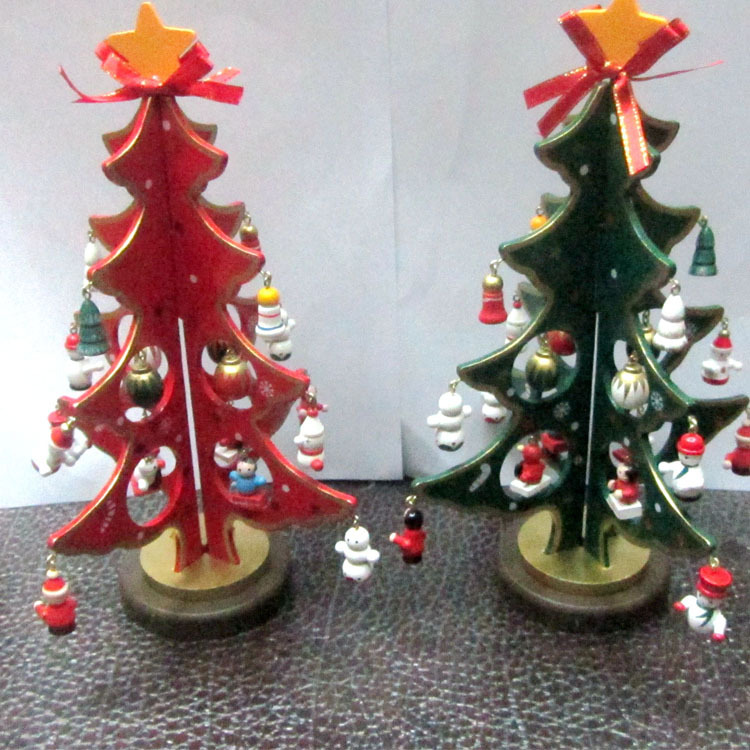 New wooden arts and crafts chrismas decoration