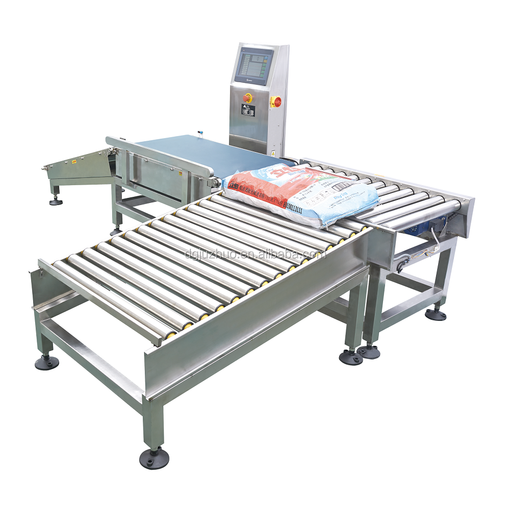 Conveyor Weighing System For Snack Processing Line JZ-W25kg