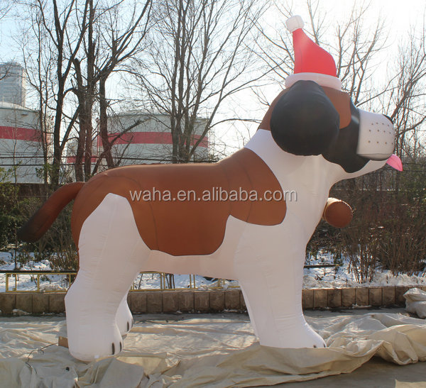Giant inflatable dog for sale,very cheap inflatable model