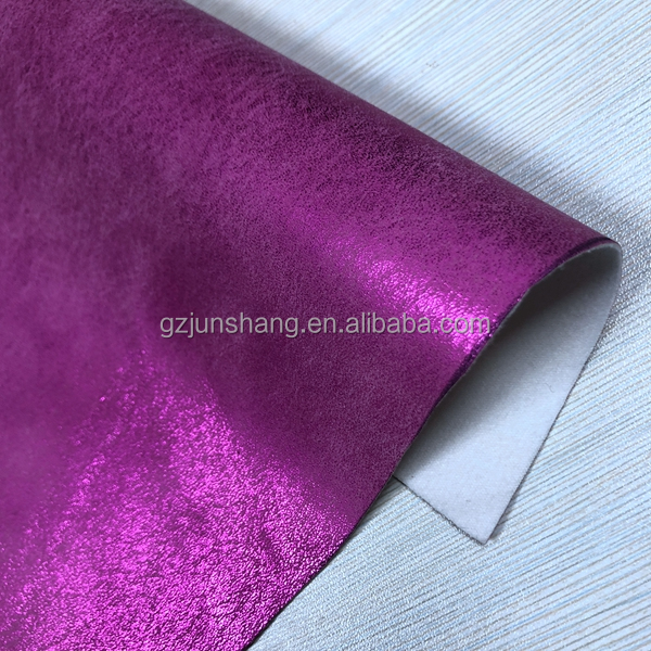 Manufacture metallic color wallets leather pu with shining metallic color